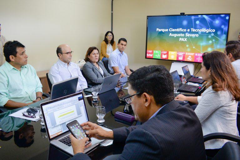 Resultado de imagem para fotos Técnicos do Banco Mundial elogiam Projeto do Parque Científico e Tecnológico do RN